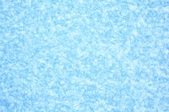 Blauwe achtergrond van Ijstextuur Royalty-vrije Stock Fotografie