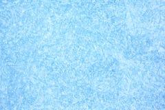 Blauwe achtergrond van Ijstextuur Royalty-vrije Stock Foto's