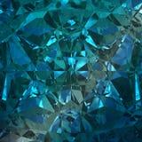 Blauwe Achtergrond van Juwelenhalfedelsteen Royalty-vrije Stock Afbeelding