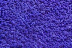 blauwe achtergrond van kunstmatige doek stock fotografie