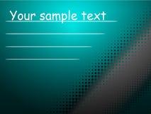 Blauwe achtergrond voor uw tekst Royalty-vrije Stock Foto's
