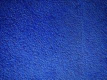 Blauwe achtergrondmuurtextuur met donkere randen Royalty-vrije Stock Foto