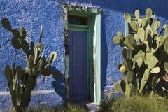 Blauwe Adobe Royalty-vrije Stock Afbeeldingen