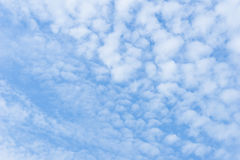 Blauwe alt-Strausachtergrond van Hemelwolken Royalty-vrije Stock Foto's
