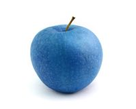 Blauwe appel Stock Foto's