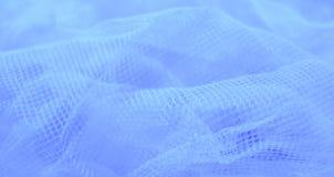 Blauwe aquatische sluier. Stock Foto