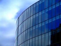 Blauwe architectuur Royalty-vrije Stock Fotografie