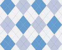 Blauwe argyle Royalty-vrije Stock Foto's