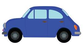 Blauwe Auto Stock Afbeelding