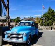 Blauwe Auto Stock Foto