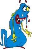 Blauwe bacteriën Royalty-vrije Stock Foto's