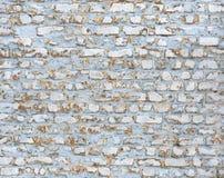 Blauwe Bakstenen muur Stock Afbeelding