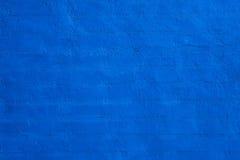 Blauwe bakstenen muur Royalty-vrije Stock Foto