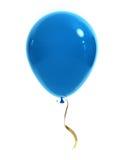 Blauwe ballon Stock Illustratie