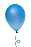 Blauwe ballon stock foto