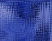 Blauwe batic Stock Fotografie