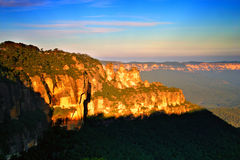 Blauwe Berg, NSW, Australië stock foto's