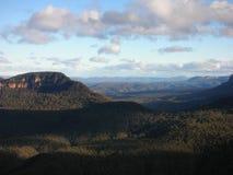 Blauwe bergen Stock Foto's