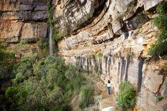 Blauwe Bergen, Australië Stock Foto