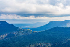 Blauwe Bergen, Katoomba, Australië stock afbeelding