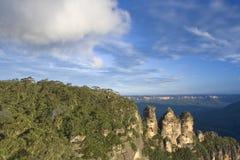Blauwe Bergen, NSW, Australië stock foto's