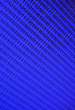 Blauwe Binaire Achtergrond Royalty-vrije Stock Afbeeldingen