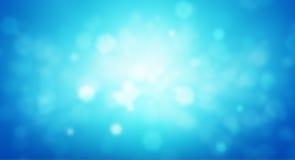Blauwe biologieachtergrond Vector Illustratie