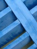 Blauwe blindclose-up royalty-vrije stock afbeelding