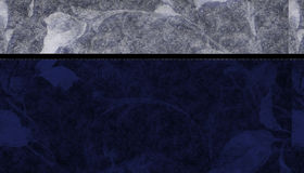Blauwe BloemenAchtergrond Stock Foto's