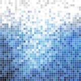 Blauwe blokken Stock Fotografie