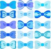 Blauwe bogeninzameling Stock Afbeeldingen