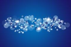 Blauwe bokegrens Stock Fotografie
