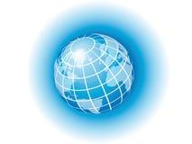 Blauwe Bol Royalty-vrije Stock Afbeeldingen