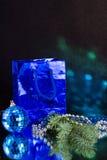 Blauwe bol royalty-vrije stock foto