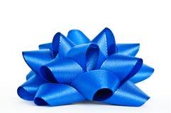 Blauwe boog Royalty-vrije Stock Afbeelding