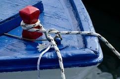 Blauwe boot Royalty-vrije Stock Foto's