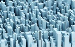Blauwe bouw royalty-vrije illustratie