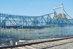 Blauwe brug Royalty-vrije Stock Afbeelding