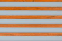 Blauwe bruine strepen Stock Foto