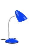 Blauwe bureaulamp Royalty-vrije Stock Fotografie