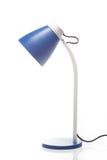 Blauwe bureaulamp Stock Afbeeldingen