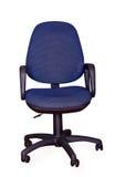 Blauwe bureaustoel Royalty-vrije Stock Fotografie