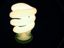 Blauwe c-Fluorescente Lamp Royalty-vrije Stock Afbeelding