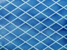 Blauwe ceramiektegels Royalty-vrije Stock Fotografie