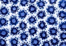 Blauwe Chrysanten Royalty-vrije Stock Foto