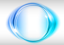 Blauwe cirkel Royalty-vrije Stock Foto's