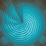 Blauwe cirkel Royalty-vrije Stock Afbeelding