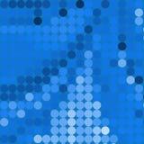 Blauwe cirkels Royalty-vrije Stock Foto's