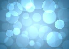 Blauwe cirkels abstracte achtergrond Royalty-vrije Stock Fotografie