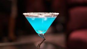 Blauwe Cocktail stock foto's